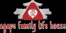 Logo for agape family life house