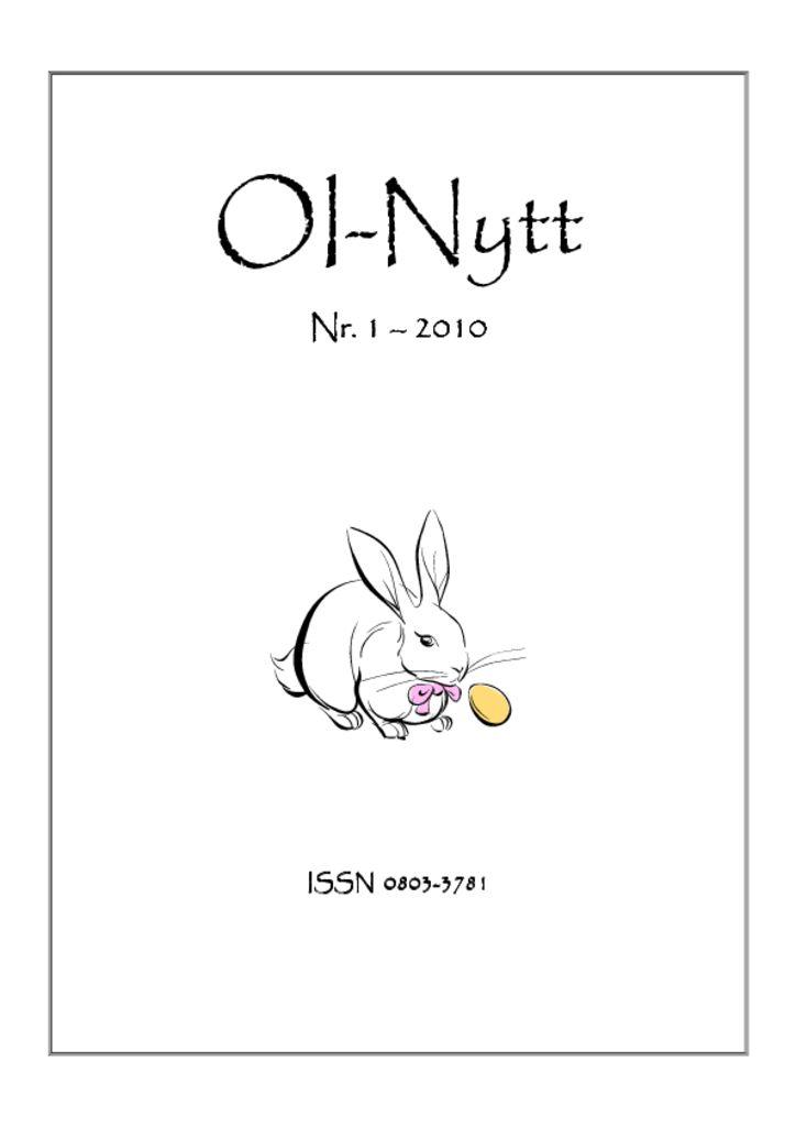 thumbnail of OI-Nytt-2010-1
