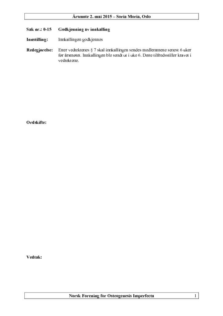 thumbnail of Årsmøtepapirer 2015