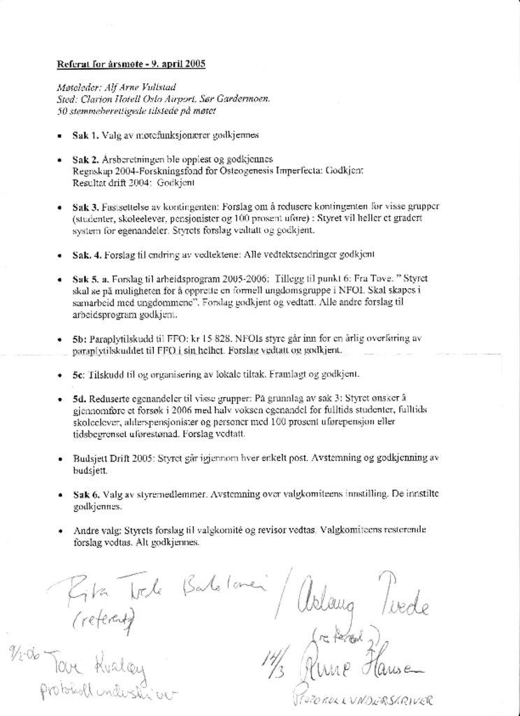 thumbnail of Referat NFOIs årsmøte 2005