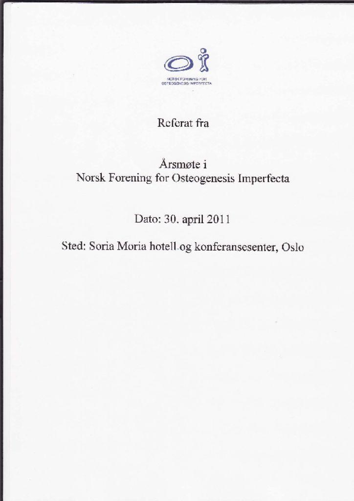 thumbnail of Referat NFOIs årsmøte 2011