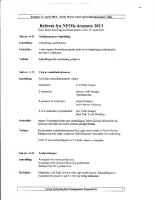 Referat NFOIs årsmøte 2013
