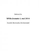 Referat NFOIs årsmøte 2014