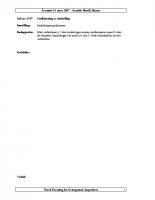 Årsmøtepapirer 2007