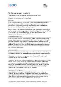 thumbnail of Uavhengig revisors beretning Signert
