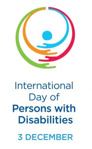 International Dayof Persons with Disabilities 3. desember
