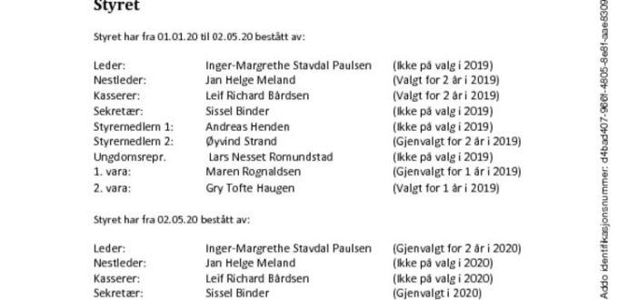 thumbnail of Årsrapport 2020 – signert