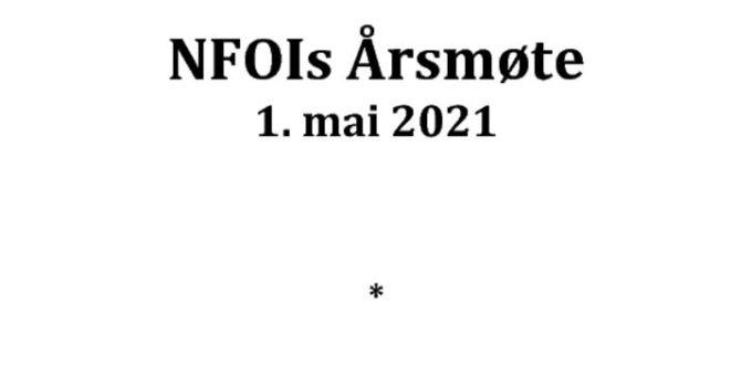 thumbnail of Saksliste NFOIs årsmøte 2021 – foreløpig versjon