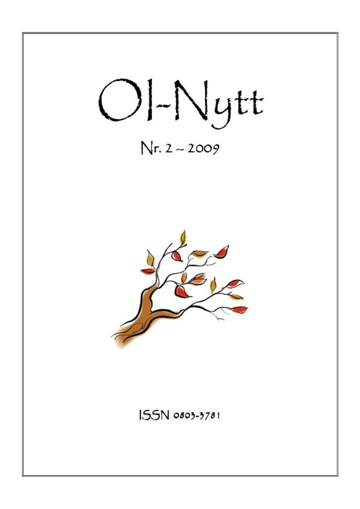 thumbnail of OI-Nytt-2009-2