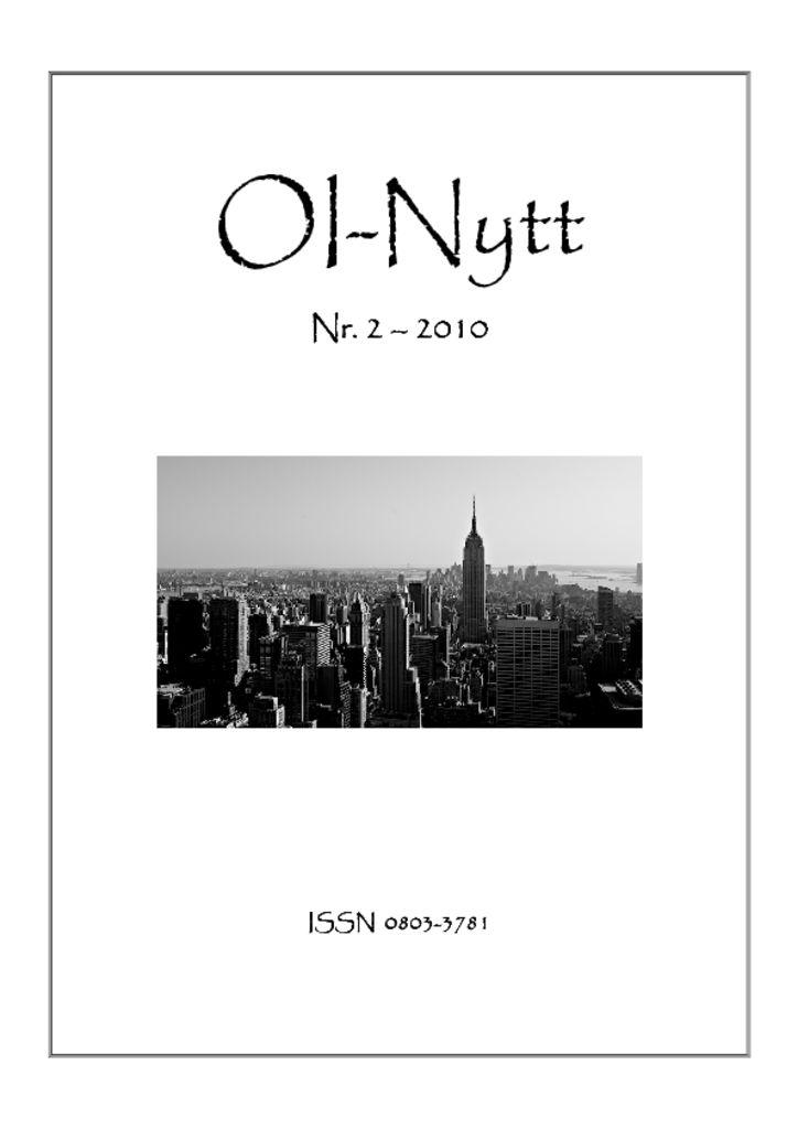 thumbnail of OI-Nytt-2010-2