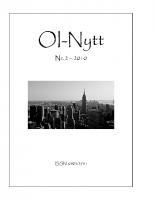 OI-Nytt 2010 NR. 2